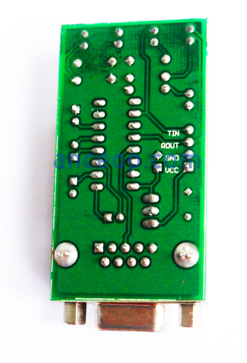 Max232 Datasheet Description Breakout Board Is A Driver Receiver That Includes Capacitive Voltage Generator To Supply Tia Eia 232 F Levels From Single
